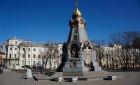Ильинский сквер — от часовни героям Плевны до памятника  Кириллу и Мефодию.